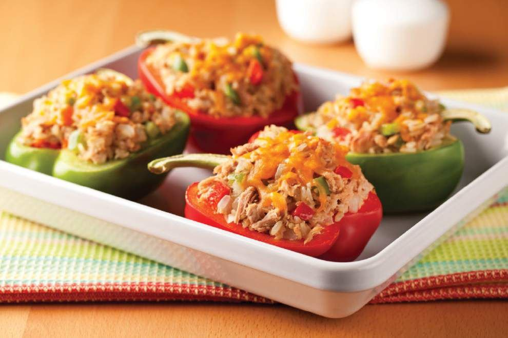 Tuna Stuffed Peppers _lowres