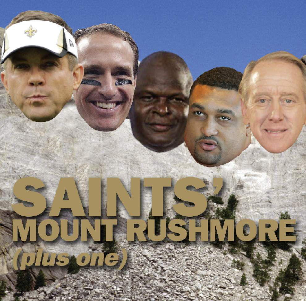 The Saints Mount Rushmore Plus One _lowres