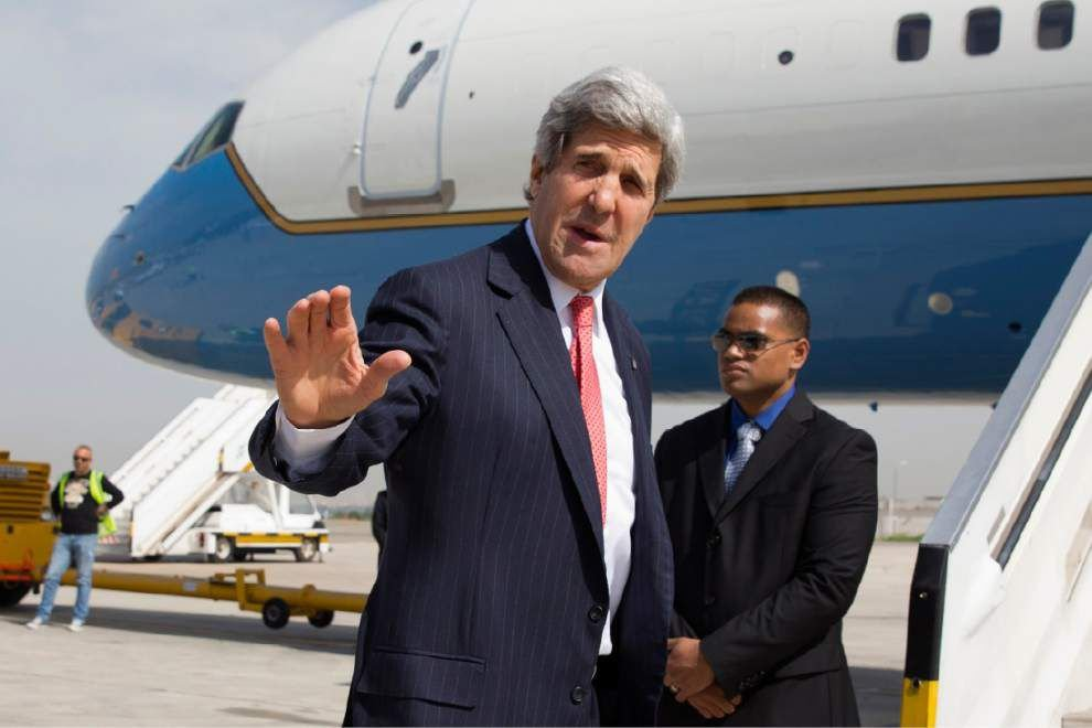 Kerry outdoes himself in new diplomatic frenzy _lowres
