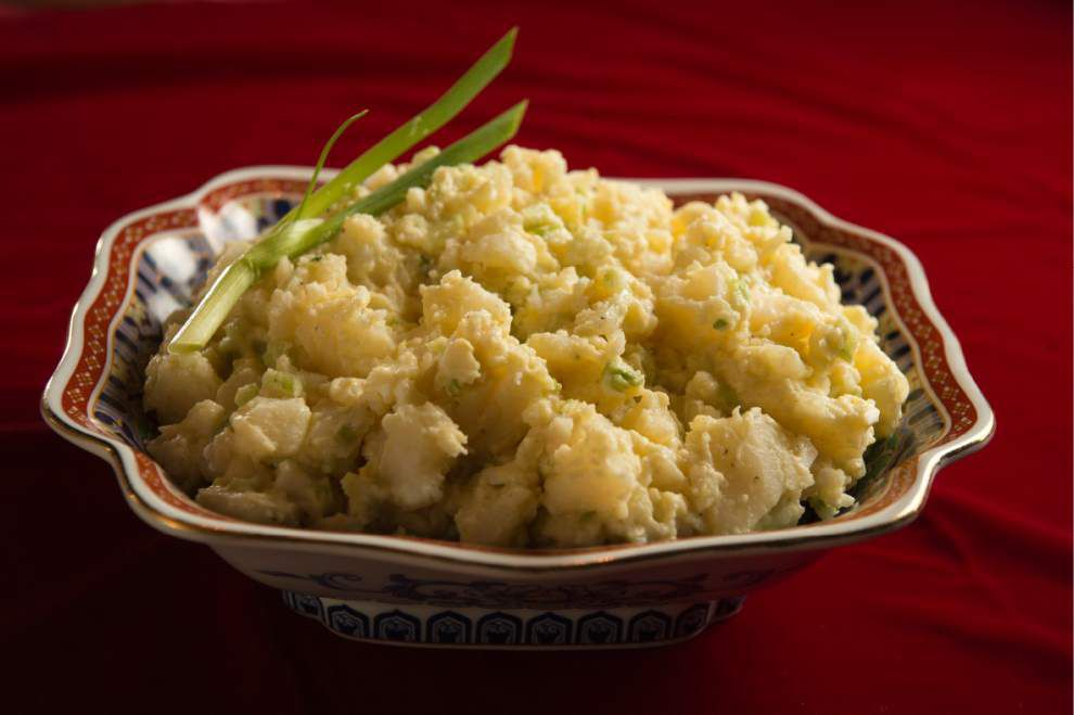 Eat Your Vegetables: Potato salad's secret is in the (cooked) sauce _lowres