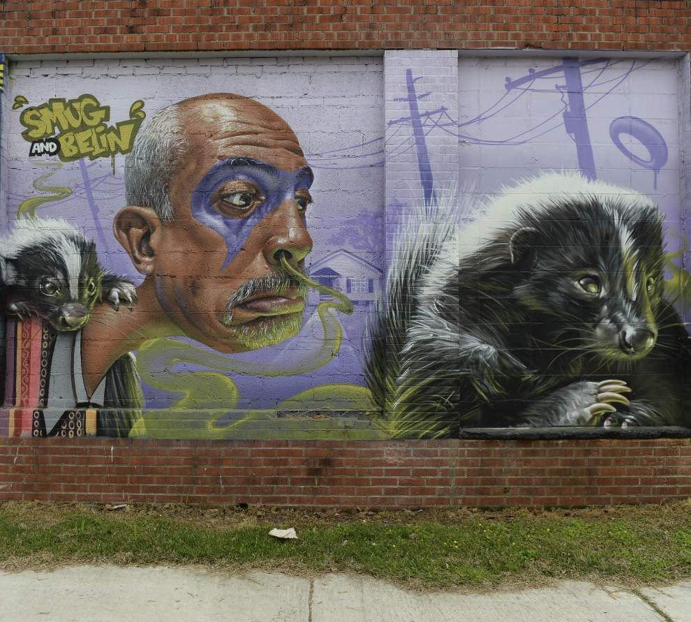 Mural projects transform buildings all over Baton Rouge _lowres