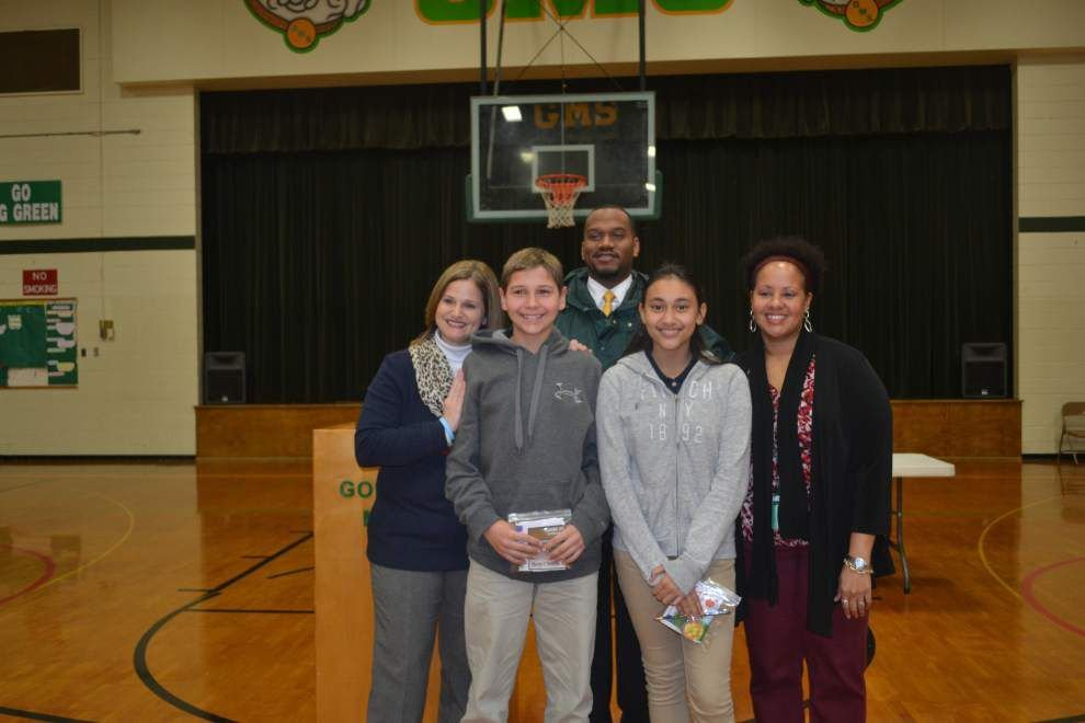 Gonzales Middle names students to honor roll _lowres