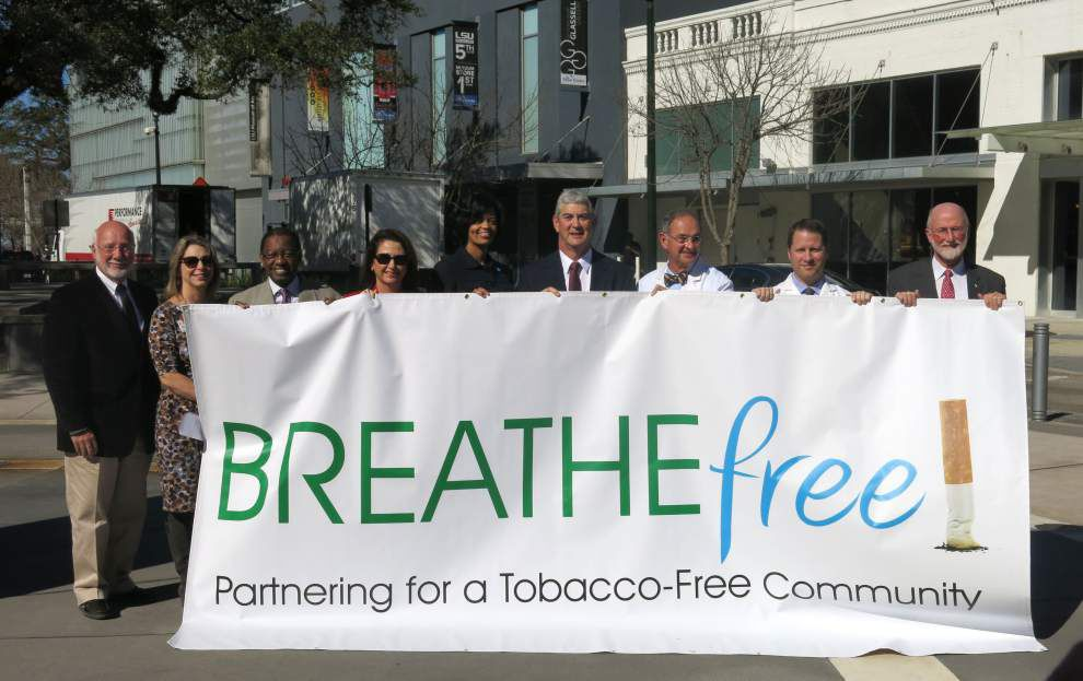 Local hospitals join city's tobacco awareness efforts _lowres