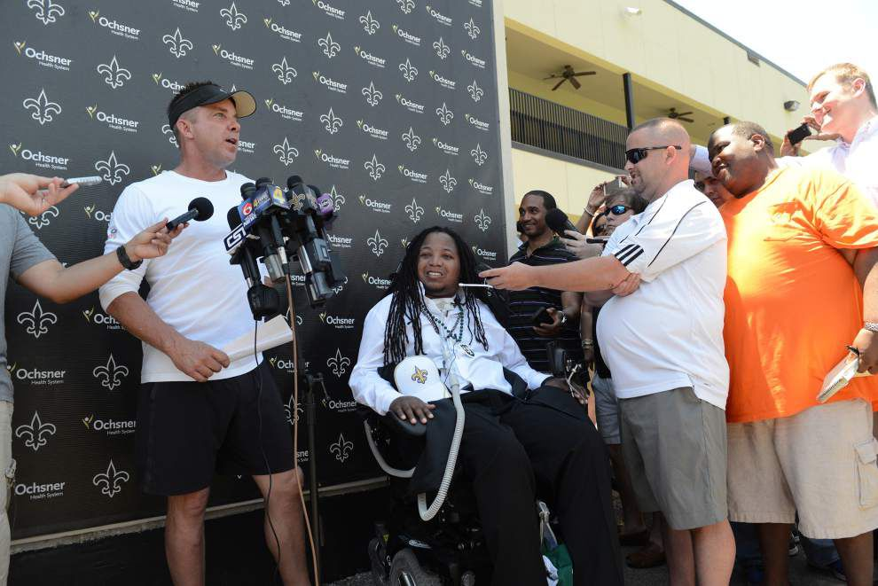 Another goal achieved: Devon Walker signs with the Saints _lowres