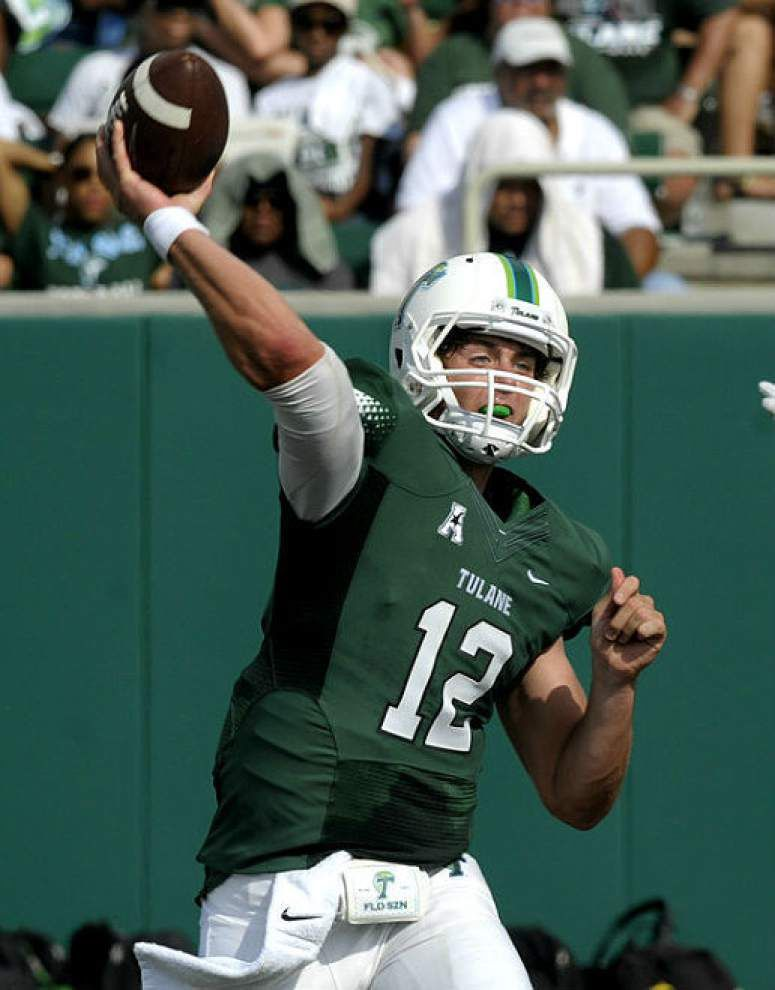 Tulane coach Curtis Johnson says Tanner Lee to start against Southeastern Louisiana on Saturday _lowres