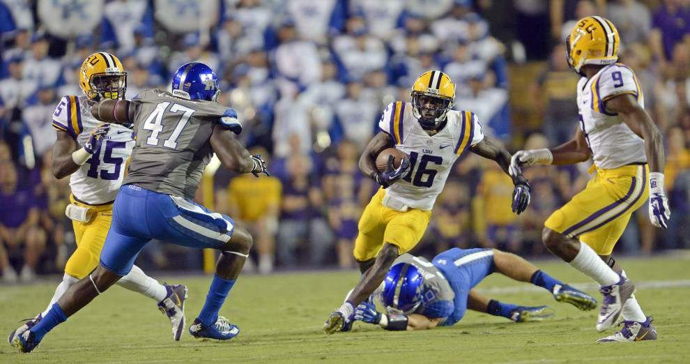 LSU's offensive line sees freshman infusion _lowres