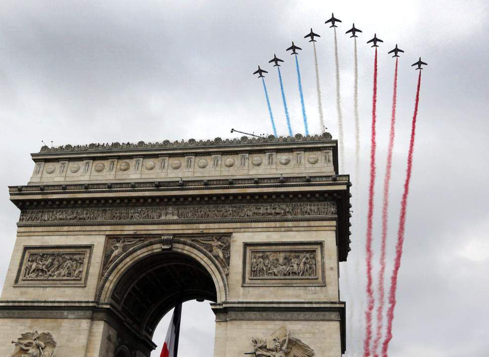For Bastille Day, France commemorates World War I _lowres