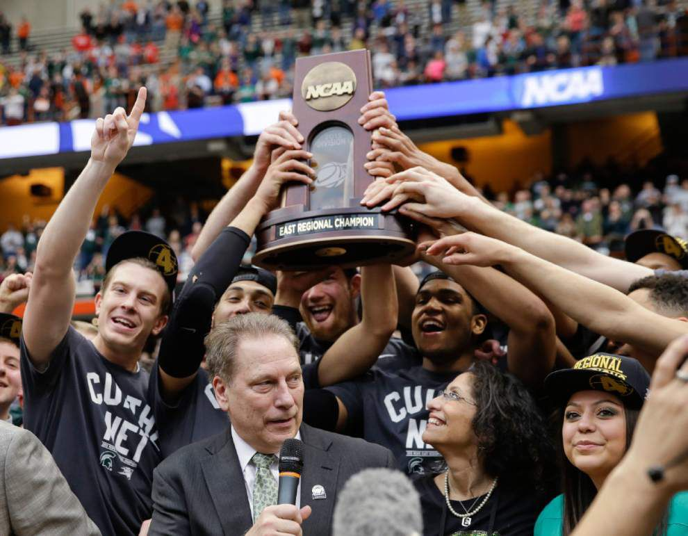 With win over Louisville, No. 7 Michigan State crashes Final Four full of top seeds _lowres