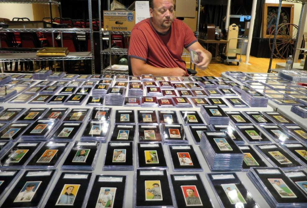 For sale: Century-old cards of Ty Cobb, Cy Young _lowres