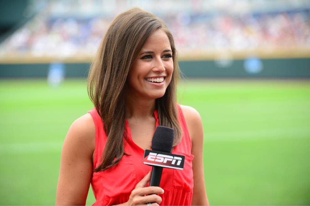 Baton Rouge native, ESPN reporter Kaylee Hartung gets SEC Network promotion _lowres
