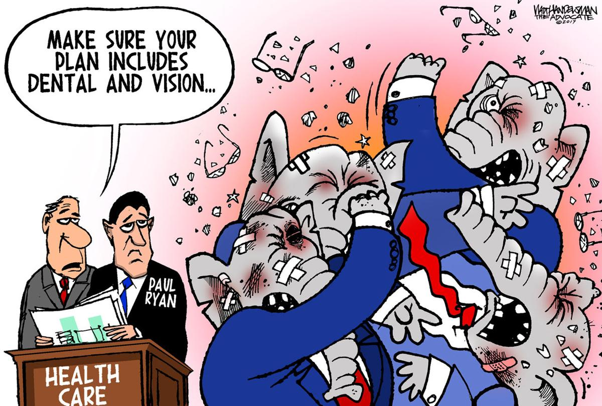 Walt Handelsman: Dental and Vision