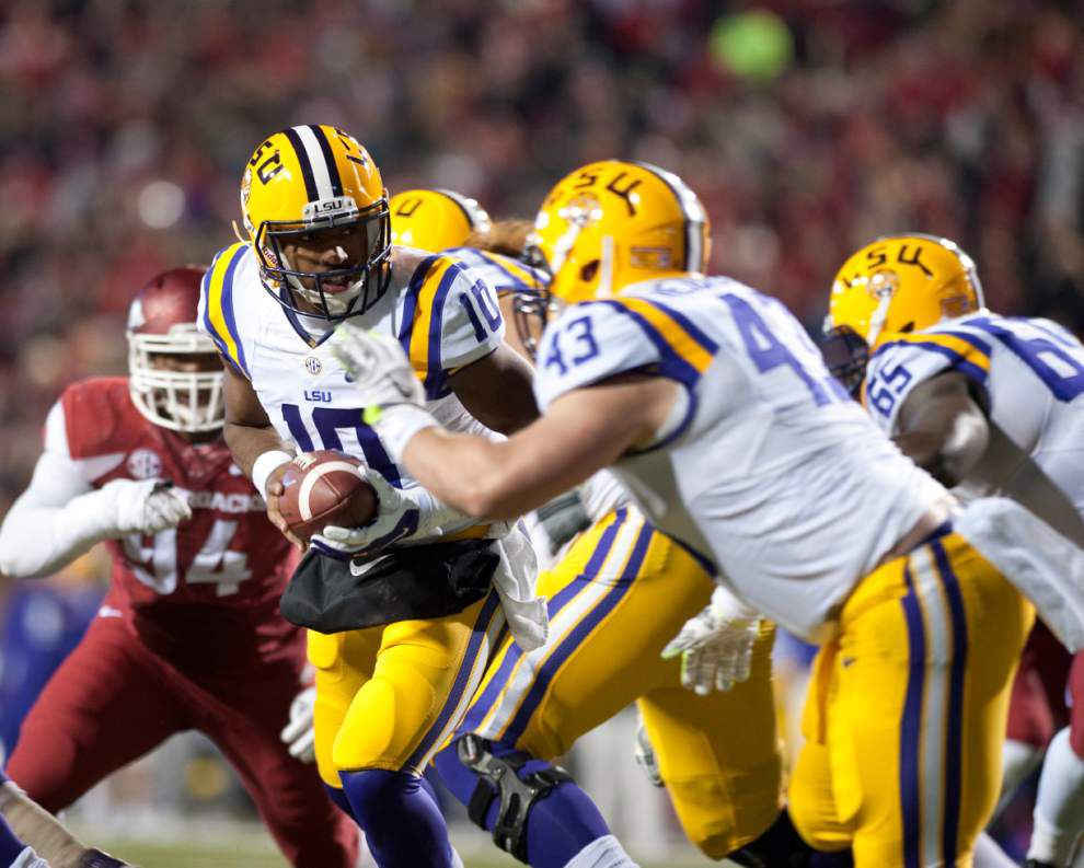 Video: LSU suffers an Alabama hangover in its 17-0 loss to Arkansas _lowres