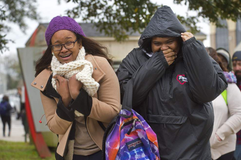 Sleet, rain mix reported near Baton Rouge area on Thursday _lowres