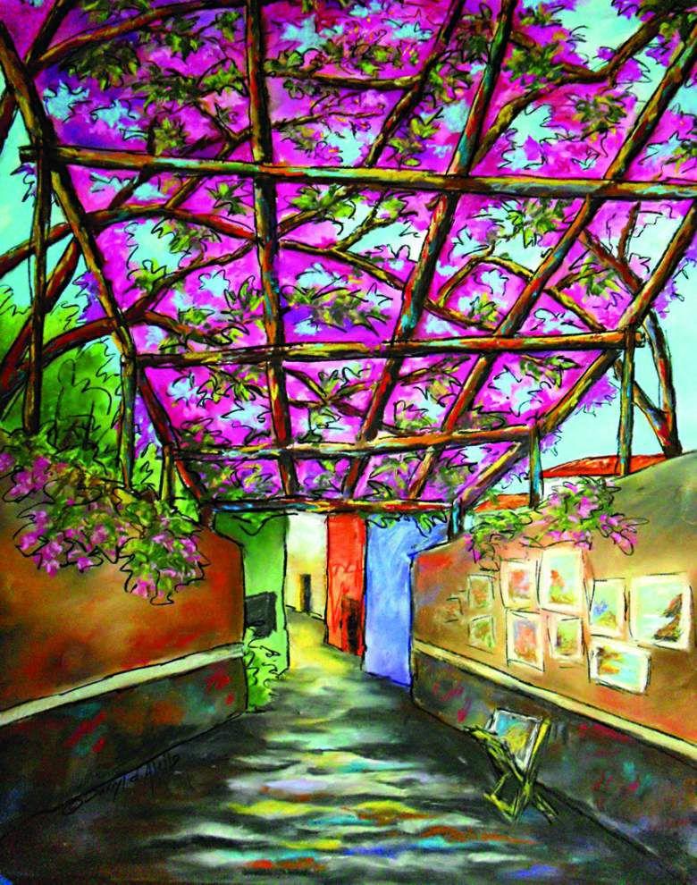 Art teacher's Italian inspiration on exhibit _lowres