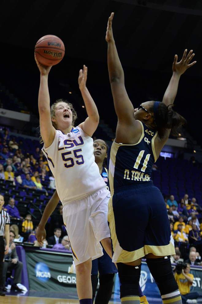 Video: Plaisance says fundamentals helped LSU to beat Georgia Tech _lowres