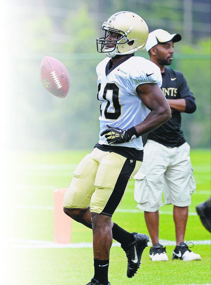 Brandin Cooks not worried about touches in Saints offense led by Jimmy Graham _lowres