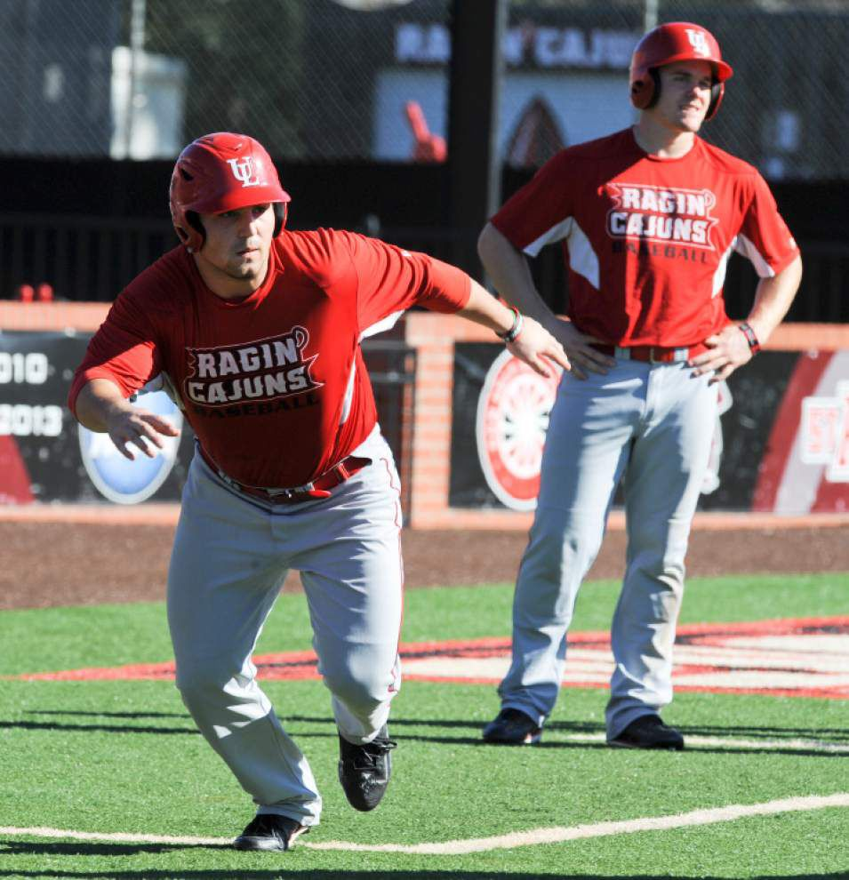 Brenn Conrad wants to leave own mark on Cajuns baseball _lowres