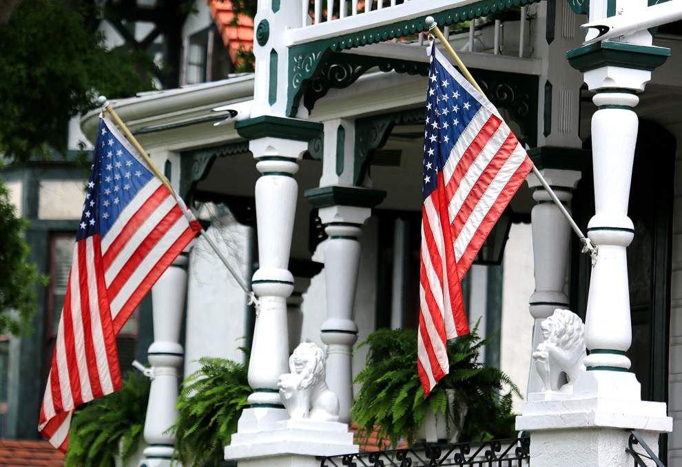 Crescent City homeowners proudly fly Old Glory on Flag Day _lowres