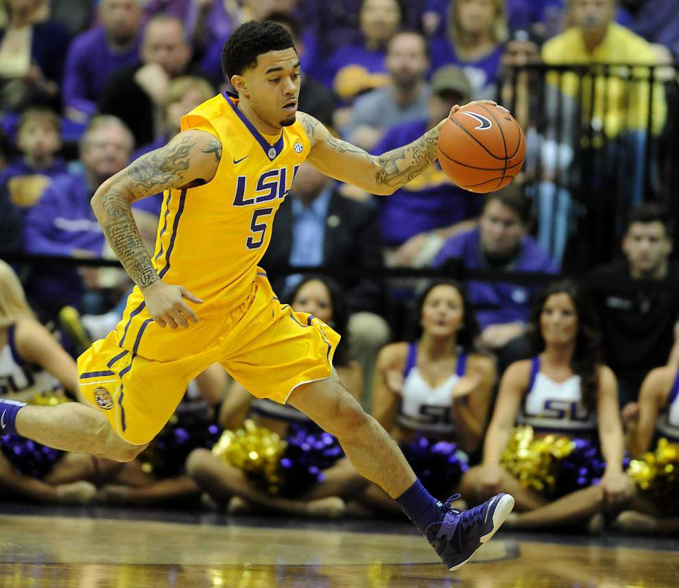 LSU guard Josh Gray won't accompany Tigers to Australia _lowres