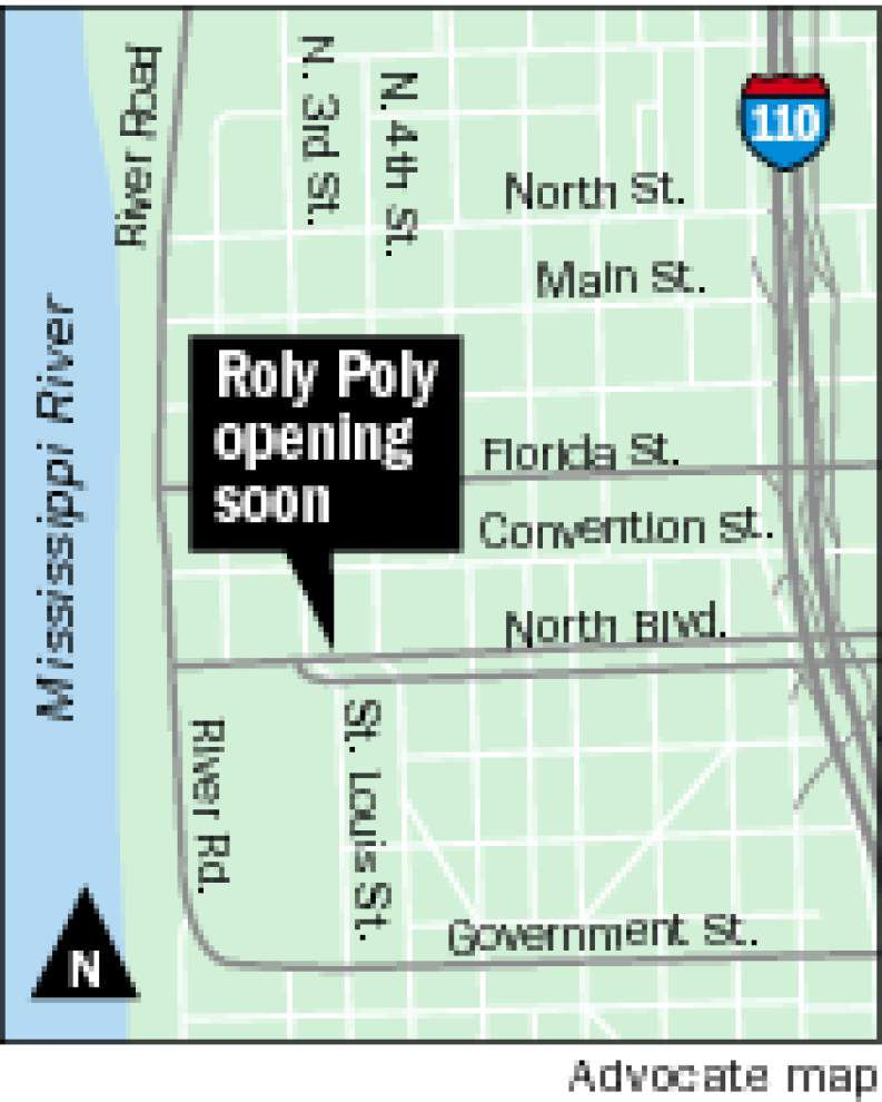 Roly Poly to open in downtown BR _lowres