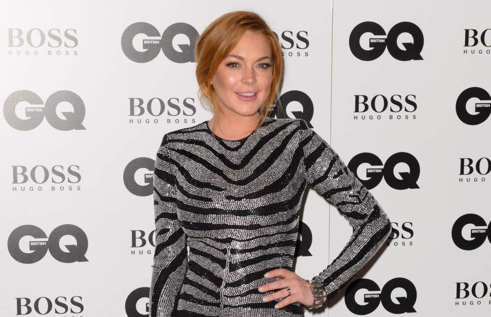 Lohan's London play role cited as key to recovery _lowres