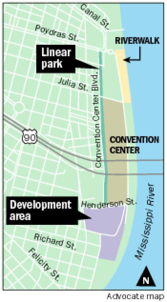Check out the renderings: New Orleans Convention Center IDs developers for massive retail, food, beverage space _lowres