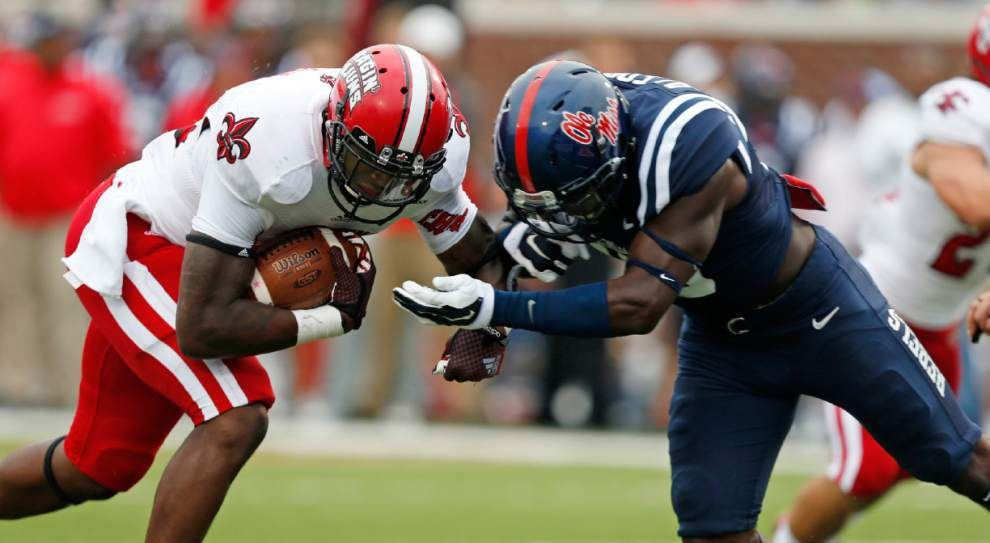 Ole Miss 56, UL-Lafayette 15: Three-and-out _lowres