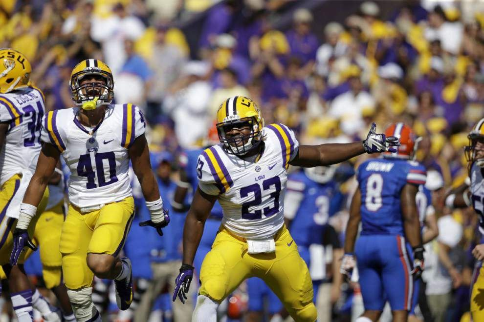 Injury free, Lamar Louis heads into 2014 ready to make a splash for LSU _lowres