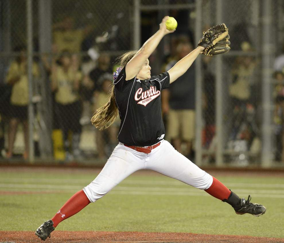 Katie Brignac named Gatorade Lousiana softball player of the year _lowres