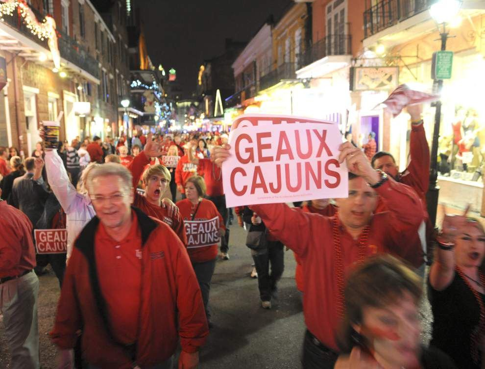 Fans to give Ragin' Cajuns a hearty send-off for New Orleans Bowl _lowres