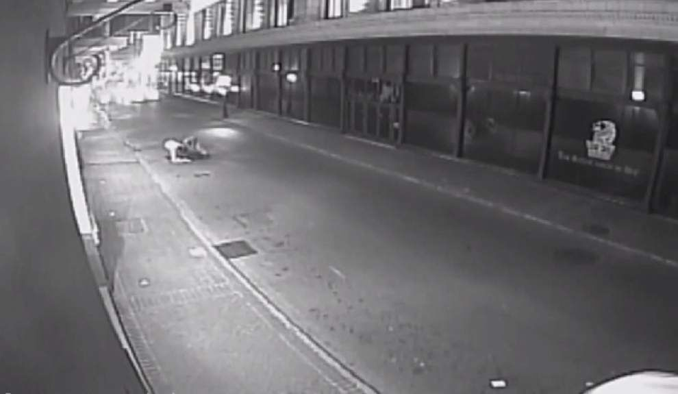 NOPD releases video of robbery, beating _lowres
