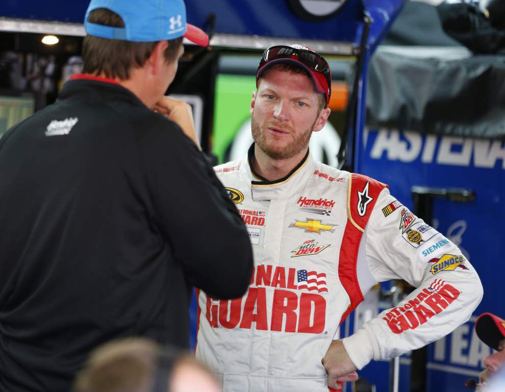 Dale Earnhardt Jr. looks to win NASCAR's longest race _lowres