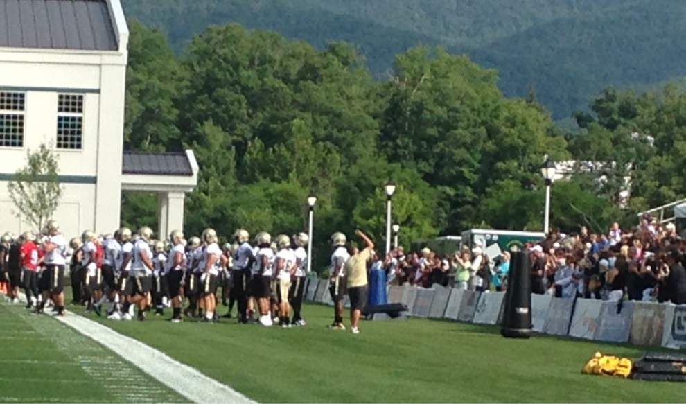 Reports from the Saints first practice _lowres
