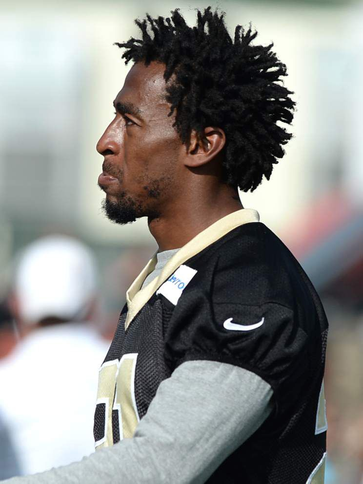 Saints' Joe Morgan, Patrick Robinson working way back _lowres