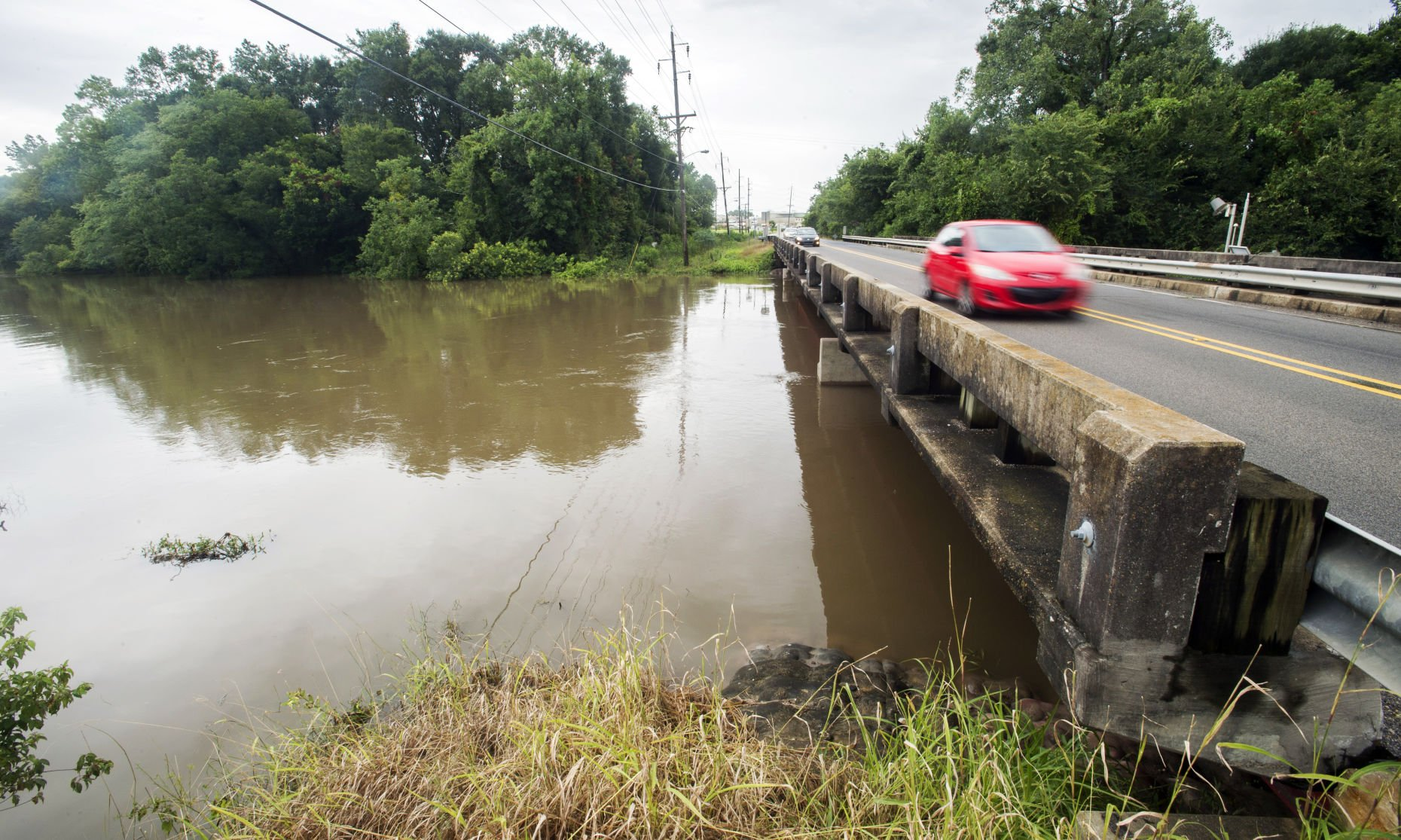 Pre-hurricane actions, Mother Nature saved Lafayette from flooding