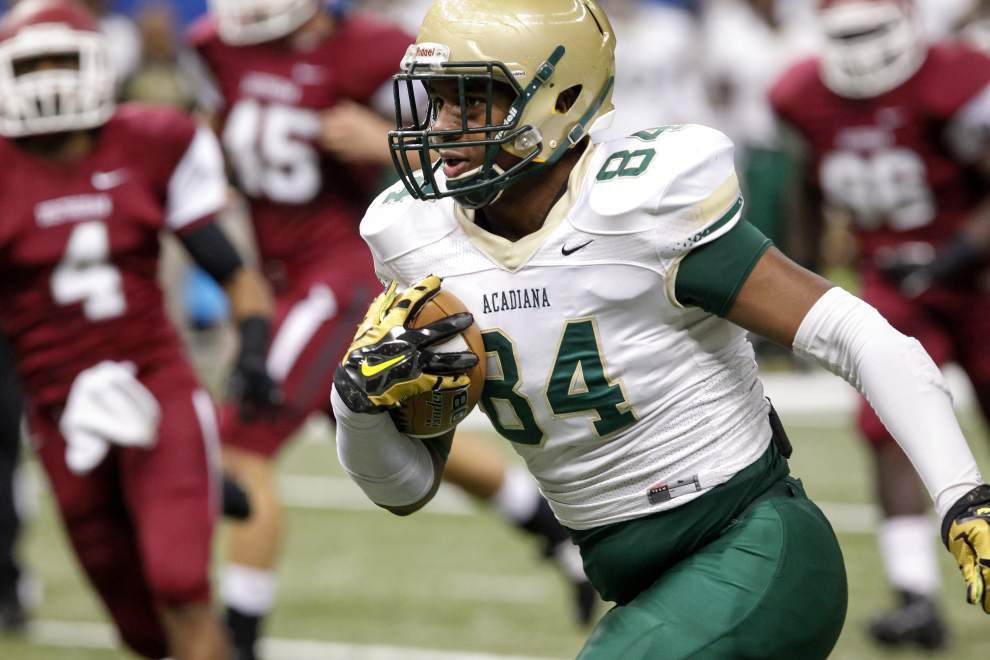 Acadiana tight end Bry'kiethon Mouton playing in all-star game in Shreveport _lowres