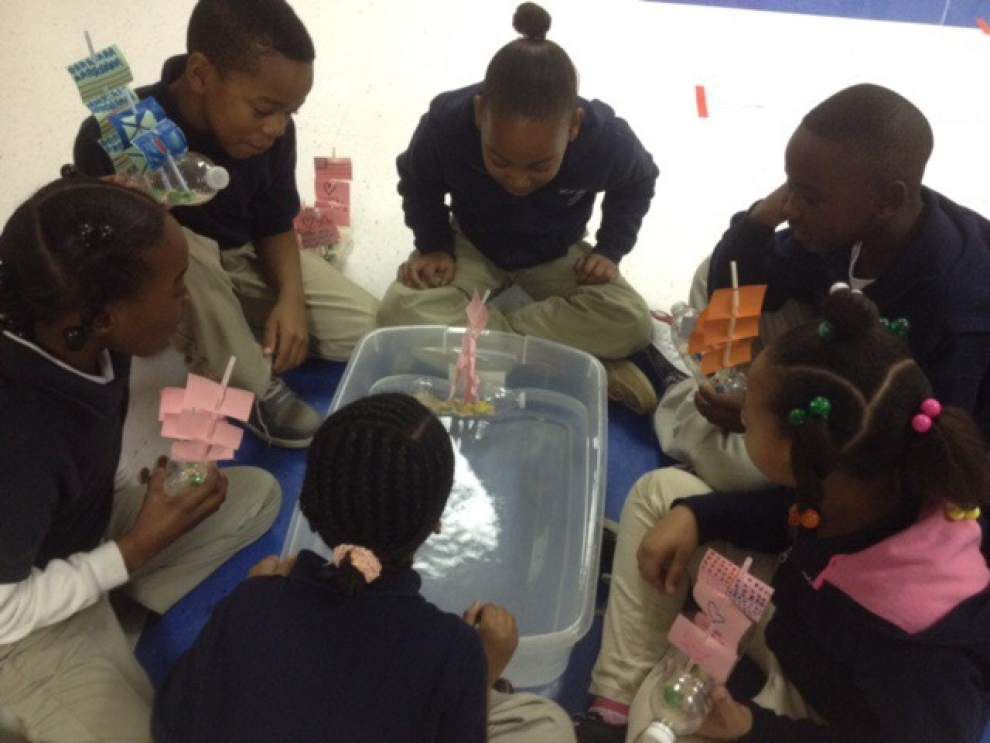 Jackson Elementary students set sail _lowres