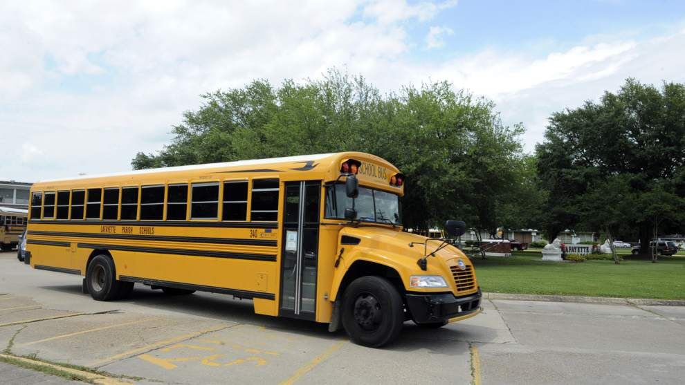 Lafayette launching campaign to remind drivers of rules of the road with school buses _lowres