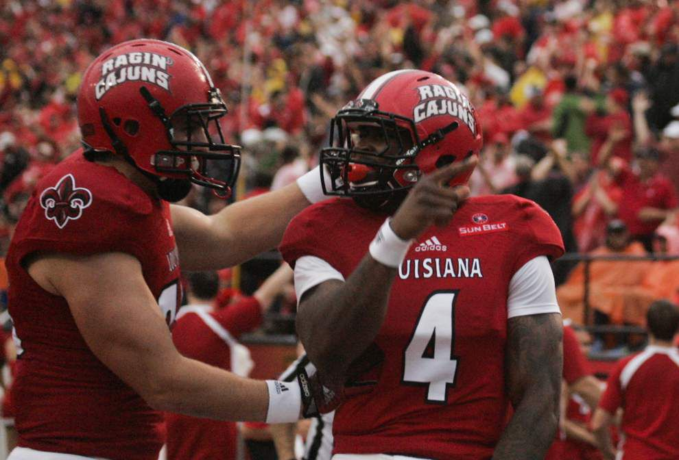 Ragin' Cajuns move up kickoff time to 1 p.m.; Evan Tatford to serve on NCAA committee _lowres