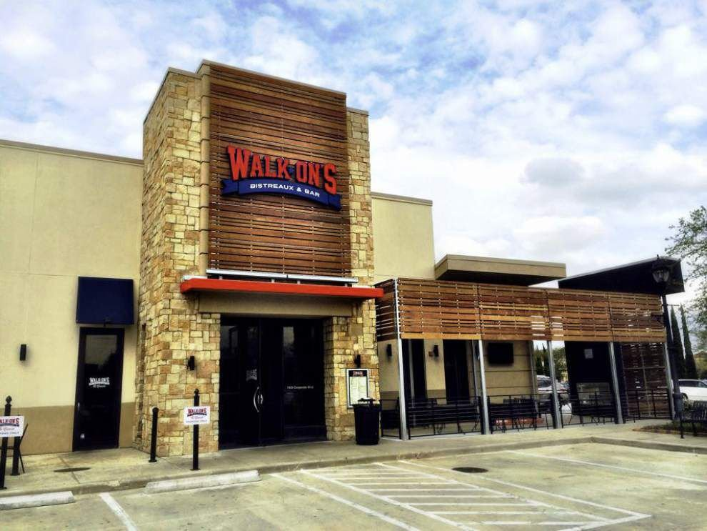 Walk-On's to open Denham Springs location March 21 _lowres