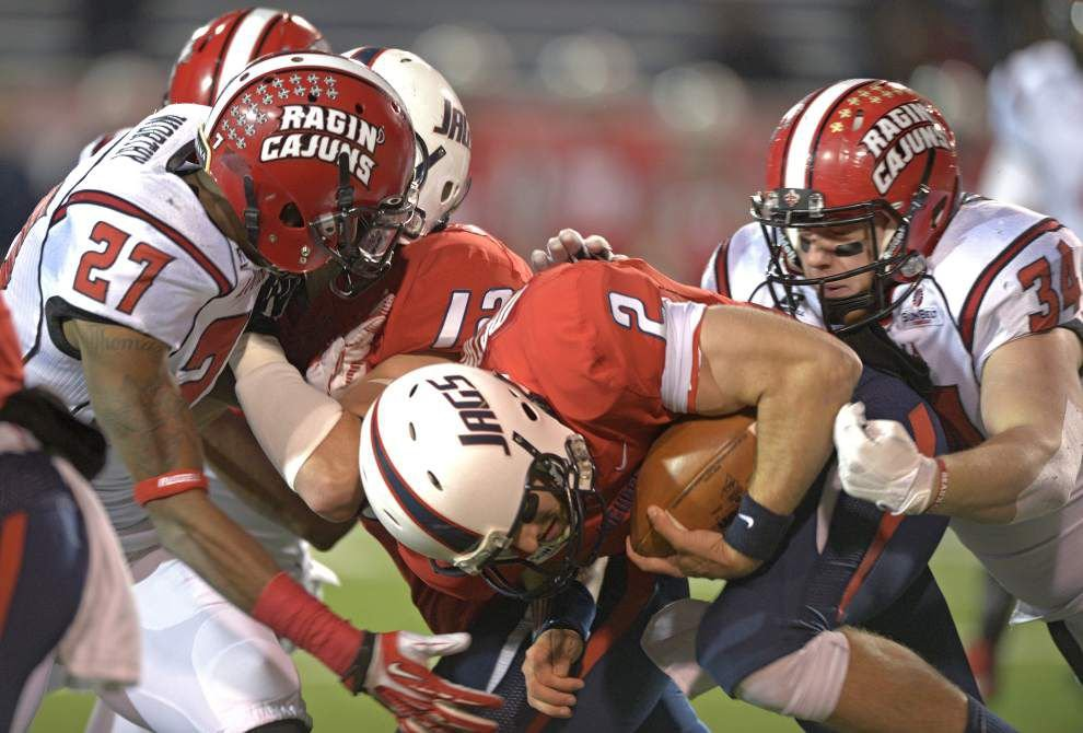 Ragin' Cajuns' Mark Hudspeth unveils new-look linebacker unit _lowres