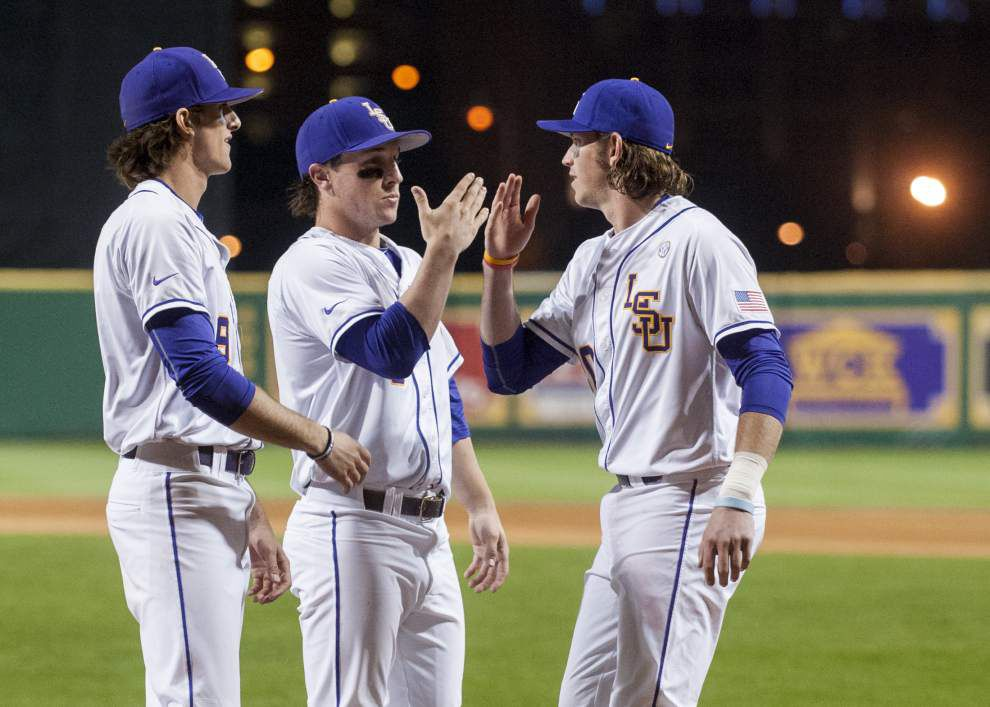 LSU adjusts weekend series with Boston College with threat of Sunday's severe weather _lowres