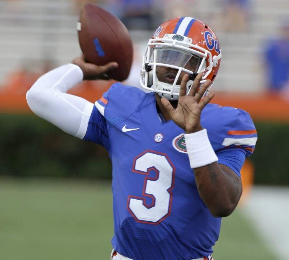 Florida quarterback Treon Harris has suspension lifted, but will not play against LSU _lowres