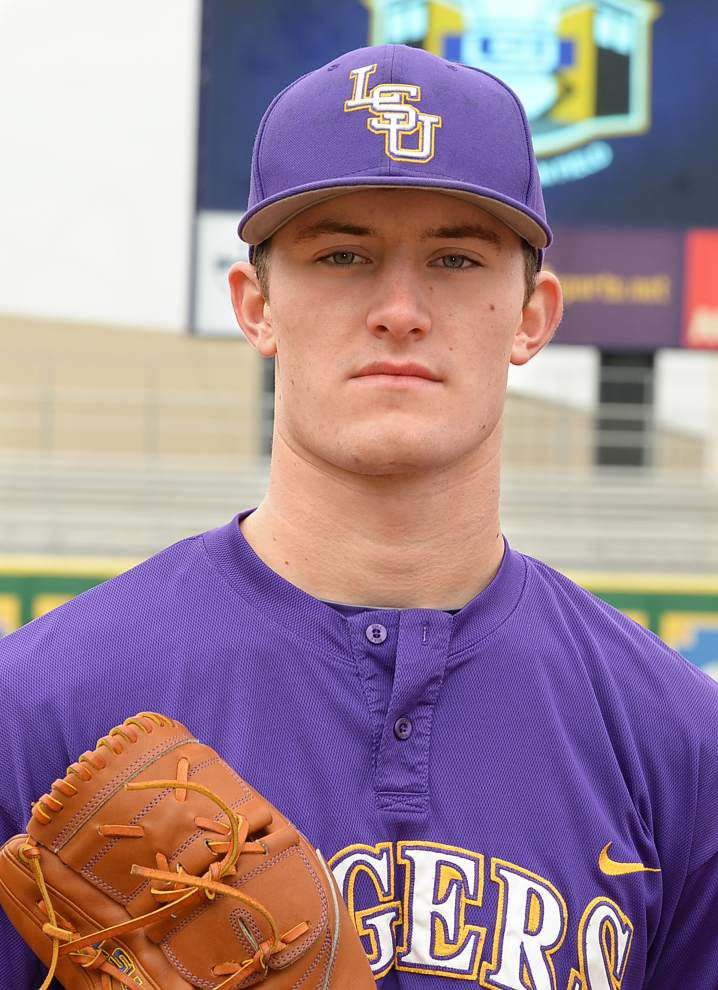 LSU baseball notebook: Jake Latz travels to Auburn; 'if everything continues to go well' he could be pitching in two weeks _lowres