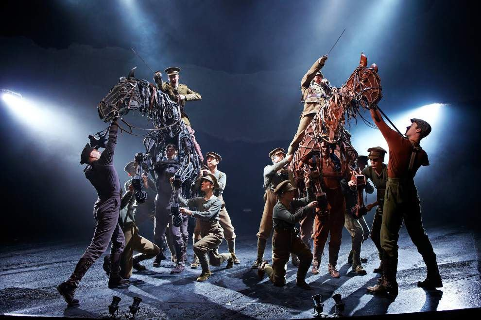 Still in the saddle, 'War Horse' goes digital _lowres
