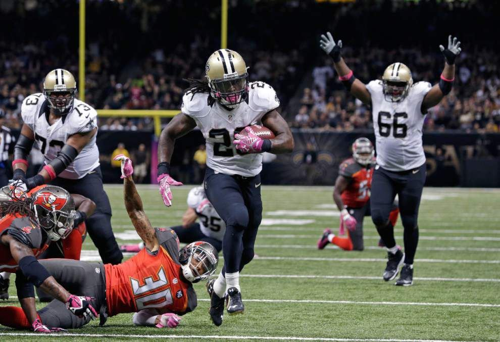 Video: The Advocate's Five Questions With Saints Running Back Khiry Robinson _lowres