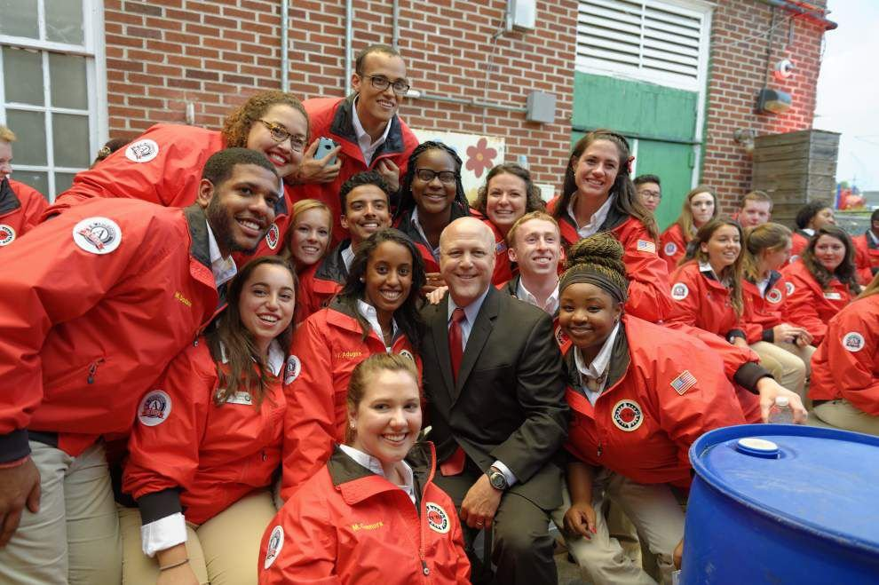 AmeriCorps members take City Year New Orleans pledge _lowres