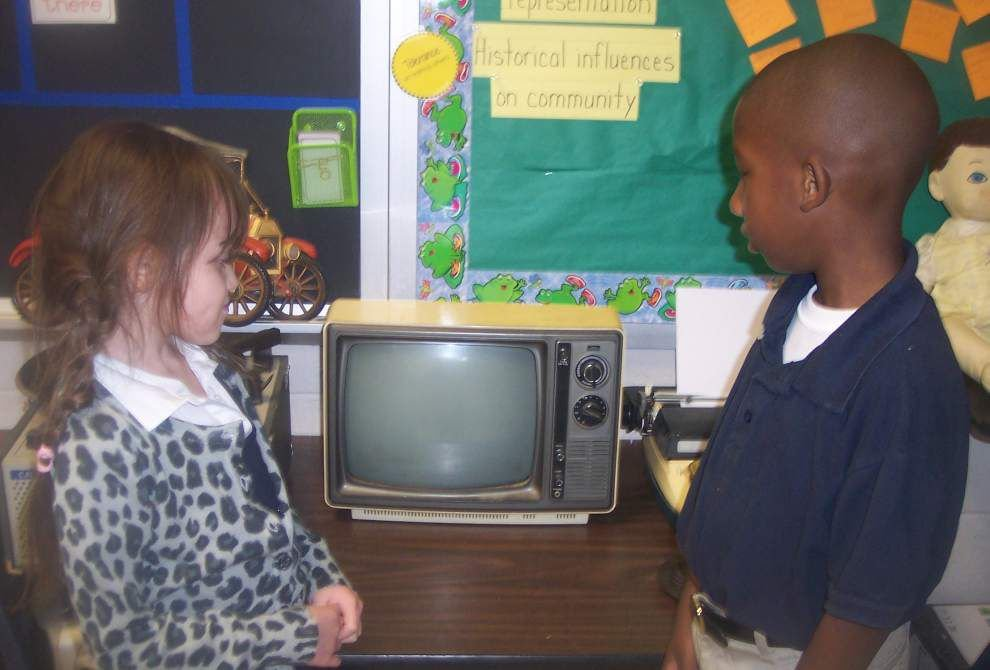 Eastside first-graders learn of past's influence _lowres