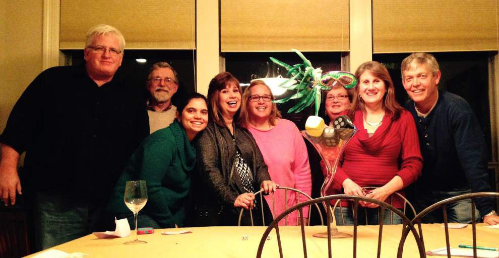 Zachary Newcomers Club bonds over bunco game _lowres