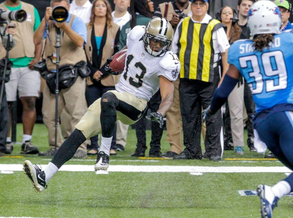 Saints wide receiver Joe Morgan suspended for undisclosed reasons _lowres